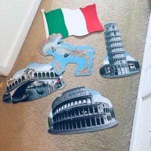 Other - Italy/ Italian classroom decorations